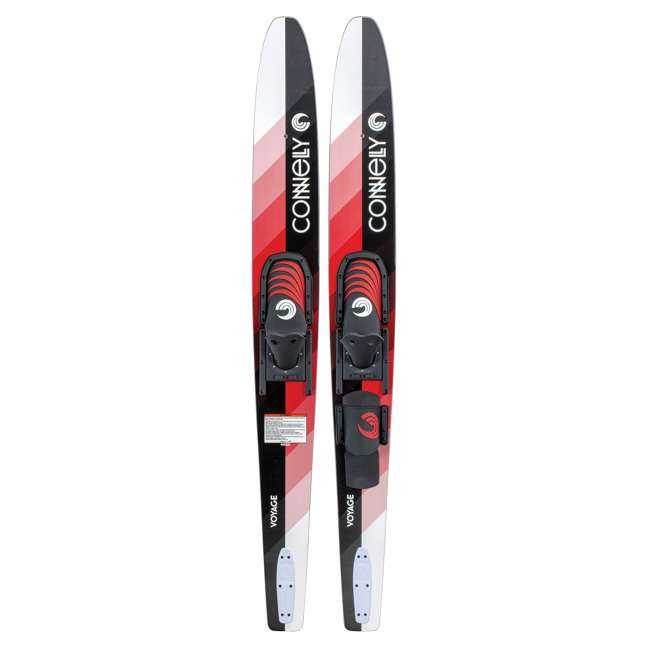 61190312-CON CWB Connelly Voyage Combo Water Sports Ski, Red, Black