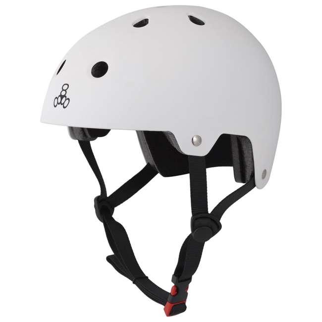 6 x T8-3017 Triple 8 Hardened Dual Certified Skate Bike Helmet, S/M (6 Pack)