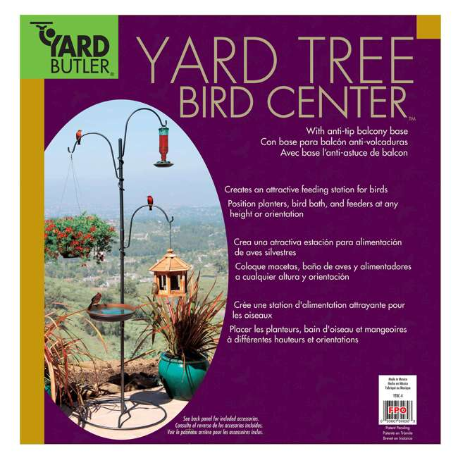 IYTBC-4 Yard Butler YTBC-4 Adjustable Bird Feeding Station and Patio Base 8