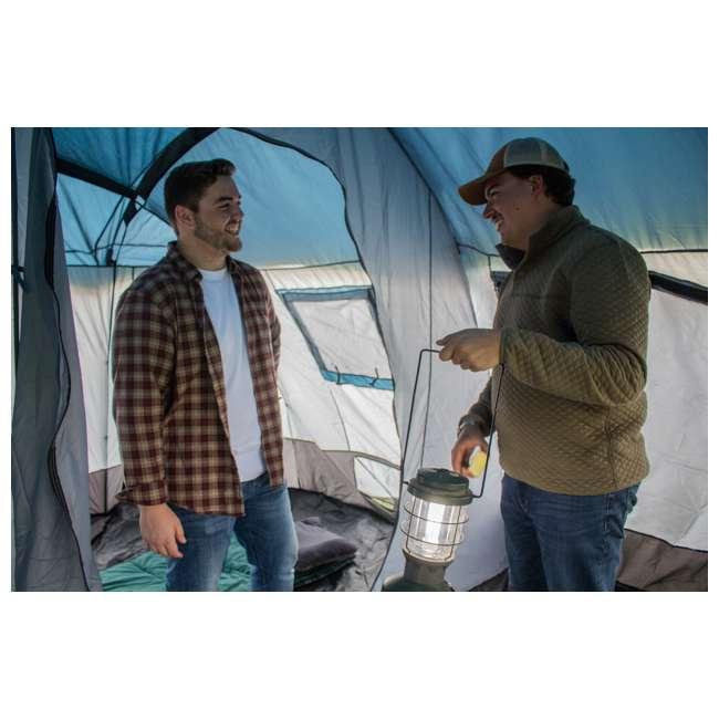 TGT-CARSON-18-B-U-A Tahoe Gear Carson 3 Season 14 Person 25x17.5' Family Cabin Tent, Red (Open Box) 8