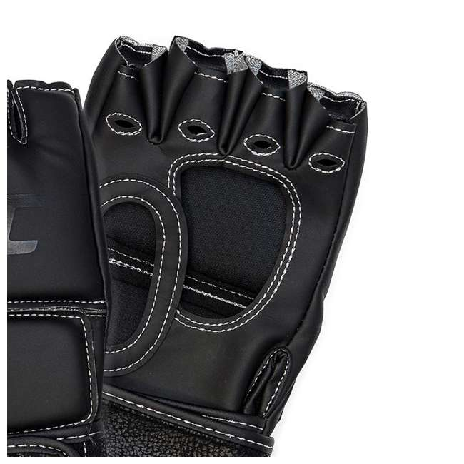 14430P010250-MMASM Century Martial Arts UFC Open Palm S/M Gloves, Black (2 Pairs) 5