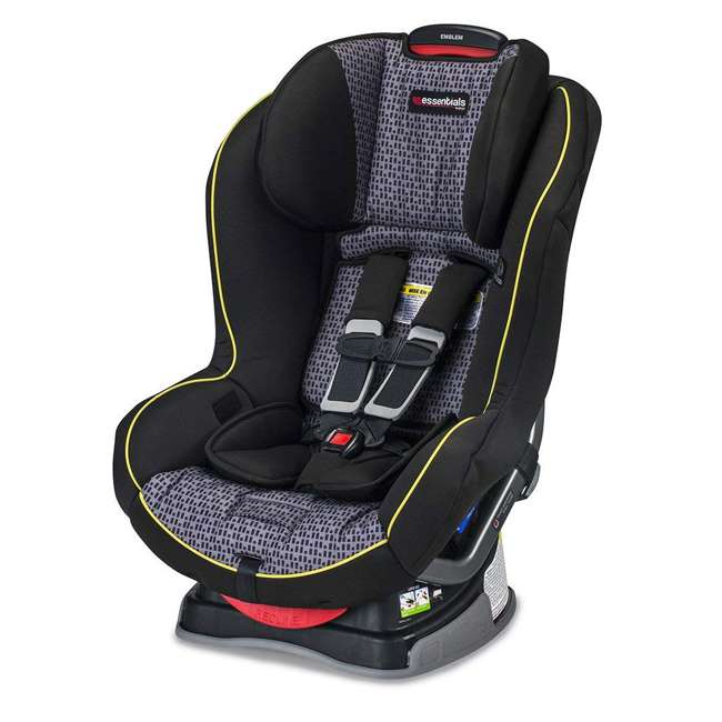 E1A889P Britax Essentials Emblem Convertible Car Seat, Pulse (2 Pack) 3
