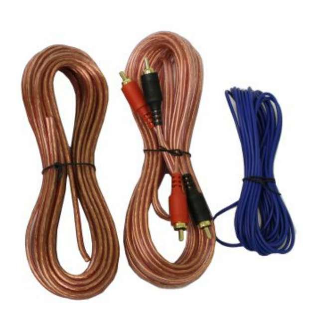 4GAUGE Q POWER 4-Gauge 2000W Amplifier Wiring Installation Kit 4