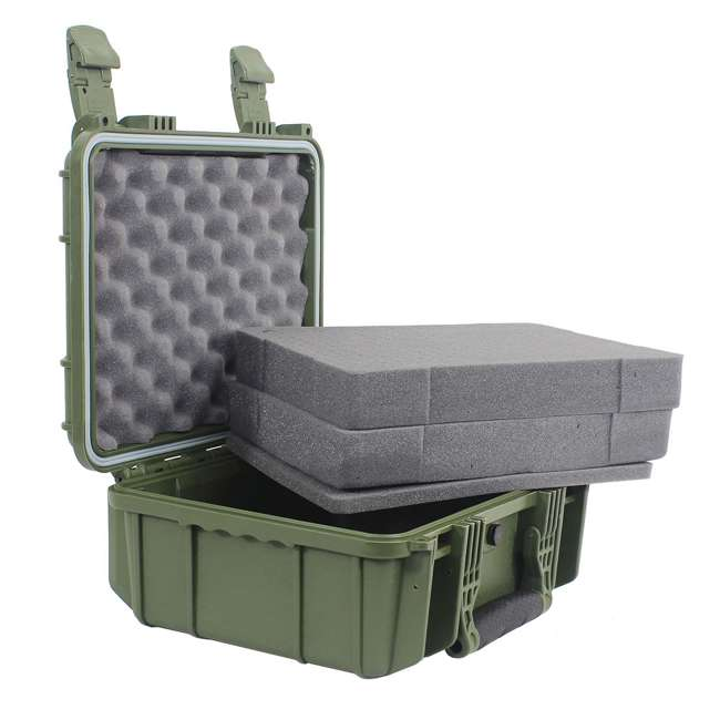H075GNF8542AC1 Condition 1 14-Inch Medium Protective Carrying Case, Green (2 Pack) 4
