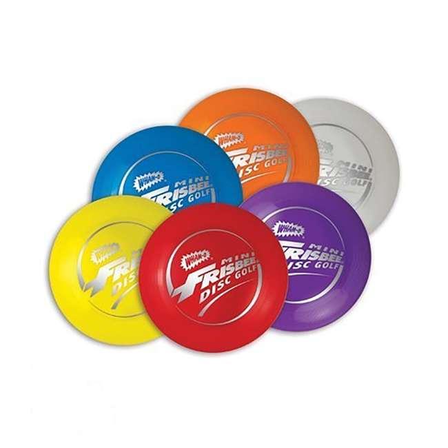3 x 51091 Wham-O Mini Frisbee Golf Set (3 Pack) 4