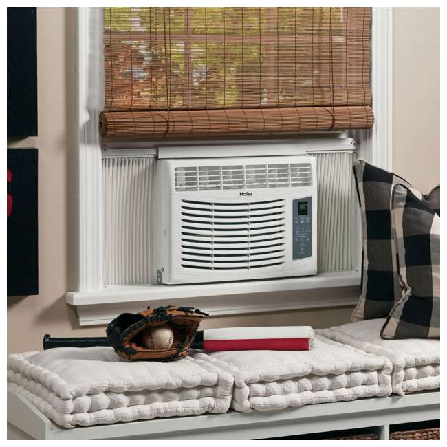 HWR05XCR-L Haier HWR05XCR-L 5000 BTU Electric Fixed Chassis Window Air Conditioner & Remote 4