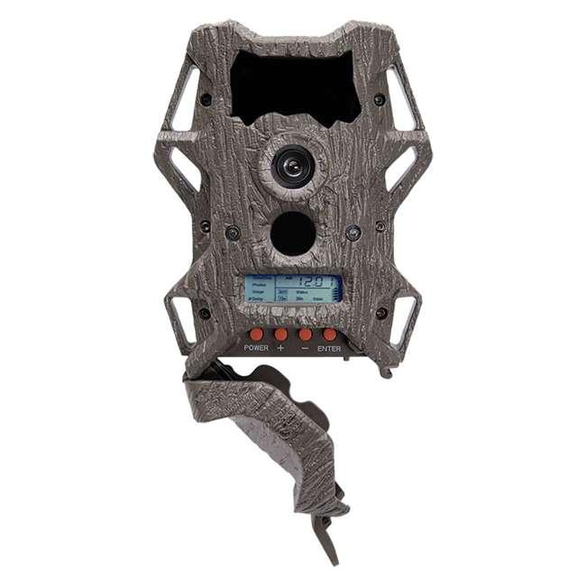 5 x WGI-KP12B88 Wildgame Innovations Cloak Pro 12 Lightsout 12MP 720p Game Camera, Camo (5 Pack) 3
