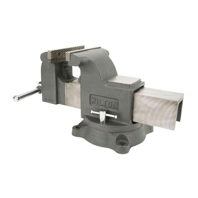 JPW-63304 + JPW-11110 Wilton WS8 8 Inch Steel Bench Vise w/ 3 Ball Peen Kit 4