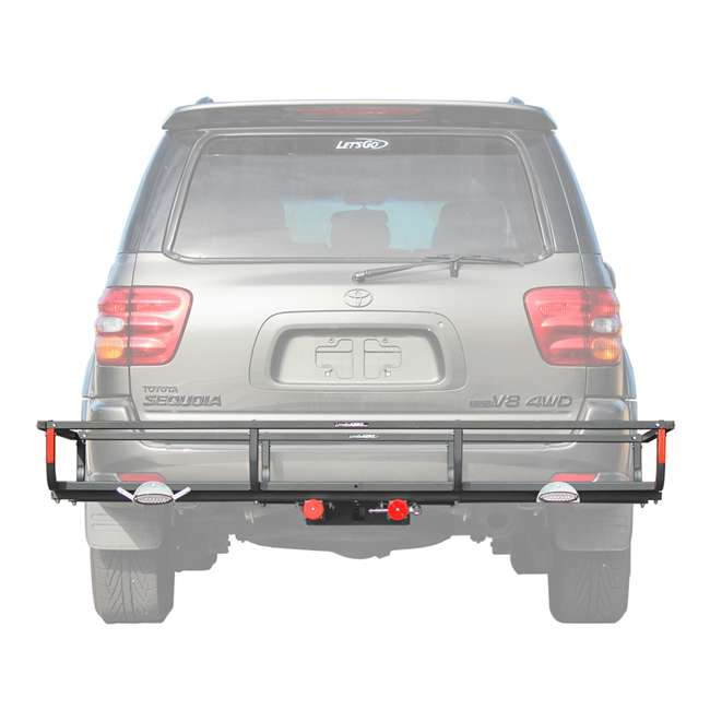 H01397 Let's Go Aero H01397 GearCage FP6 Slideout Hitch Rack w/ Silent Hitch Pin & LED 4