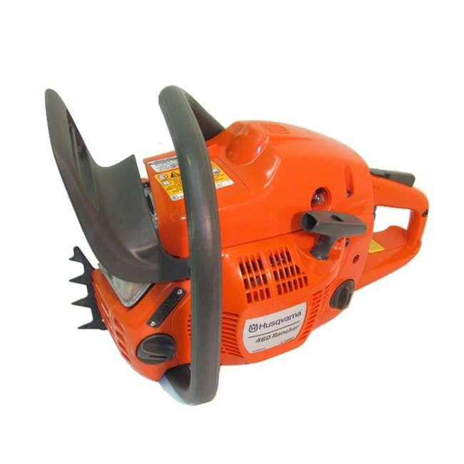 HV-CS-966048320 + HV-TOY-522771104 Husqvarna 460 20-Inch 3.62 HP Gas-Powered Chainsaw | 440 Toy Kids Chainsaw 3
