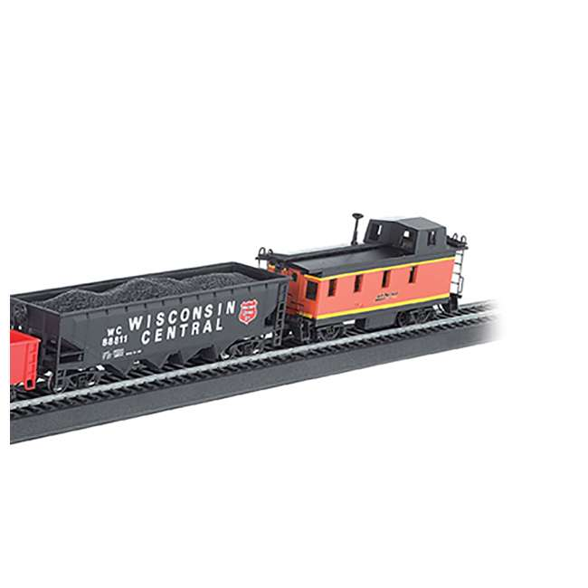 BT-00957 + BT-00706 Bachmann HO Scale Battery Power Rail Champ & Electric Rail Chief BNSF Freight Train Sets 9