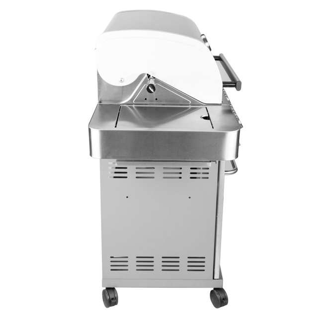 MG-24367-U-B Monument Grills Stainless Steel 4 Burner Propane Gas Grill (Used) 2