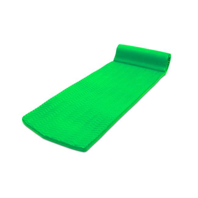 70758-U-A Poolmaster Soft Tropic Comfort Pool Lounger Mattress Float, Lime Green(Open Box) 1