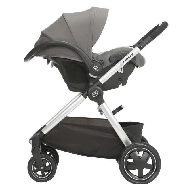 TR362CTF Maxi-Cosi Adorra Stroller and Car Seat Travel System, Loyal Gray 8