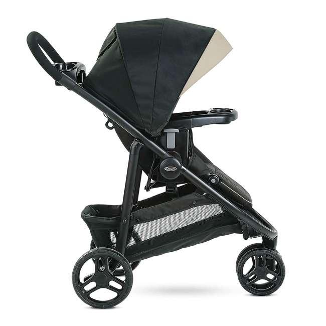 2083432 Graco 2083432 Modes 3 Lite DLX Folding Convertible Toddler Baby Stroller, Pierce 2