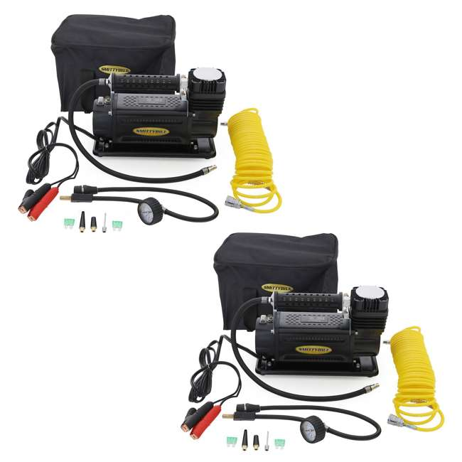 2781-SMITTYBILT Smittybilt 150 PSI 5.65 CFM Portable Air Compressor Kit (2 Pack)