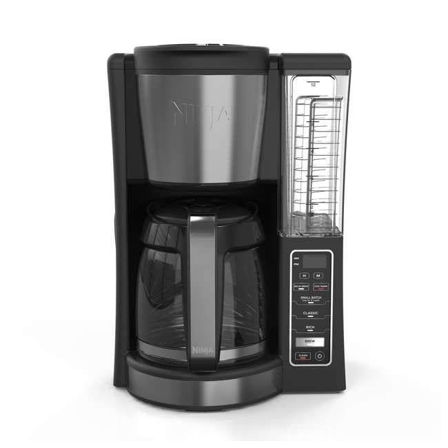 CE200_EGB-RB Ninja CE200 12 Cup Programmable Coffee Maker, Black (Certified Refurbished)