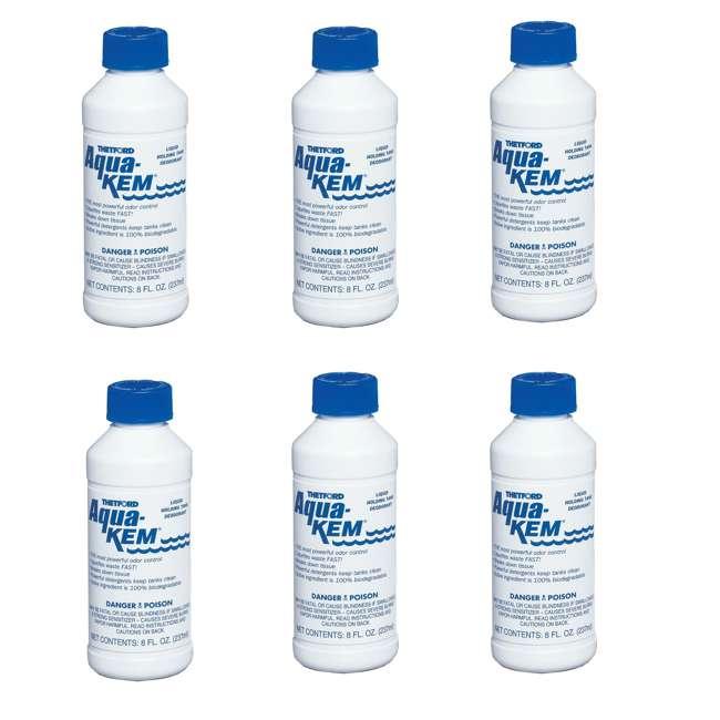3106 Thetford Aqua Kem Liquid Bottle RV Holding Tank Odor Deodorizer (12 Pack) 1