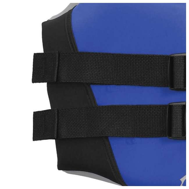 10 x 10076-09-B-BL Airhead Swoosh Neolite Adult Medium Life Vest, Blue (10 Pack) 4