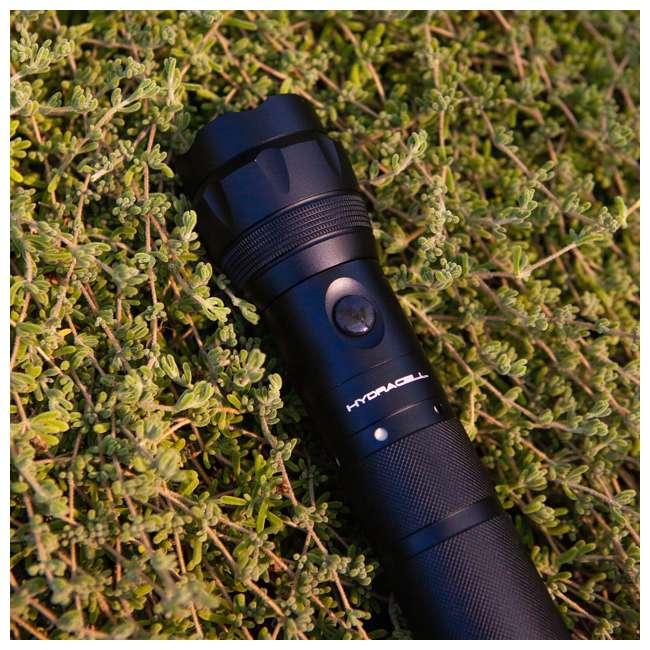 FL-ALSB2(New Box) HydraCell FL-ALSB2 Torch All Purpose Aluminum Flashlight with Fuel Cell, Black 4
