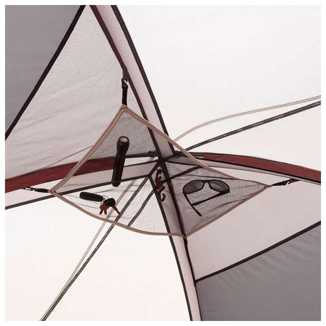 CORE-40066-U-A CORE 9-Person Extended Dome Tent, 16 x 9 Feet, Red (Open Box) 3