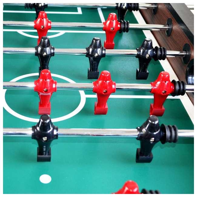 SOC054_047P Lancaster Gaming 54-Inch Foosball Game Room Table 4