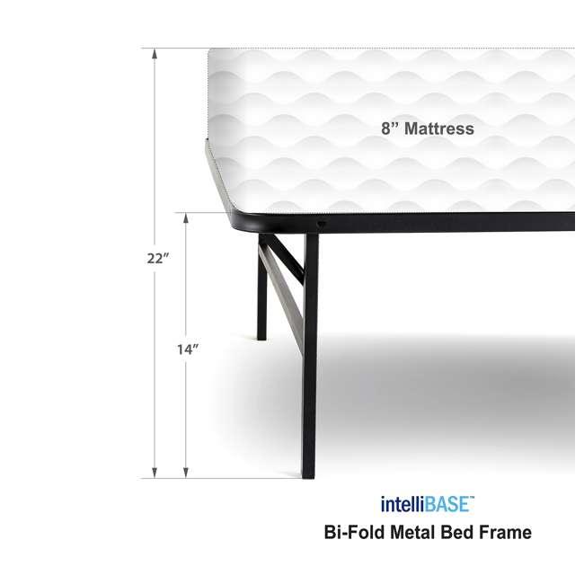 VMI-QIB2-112 + VMI-FIB2-112 intelliBASE Lightweight Platform Bed Frame, Queen with Full Frame 7