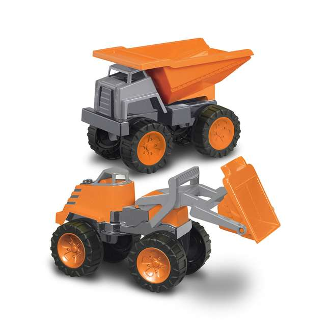APT-77750 Mega Construction Set Dump Truck and Loader 1.5 Years and Up