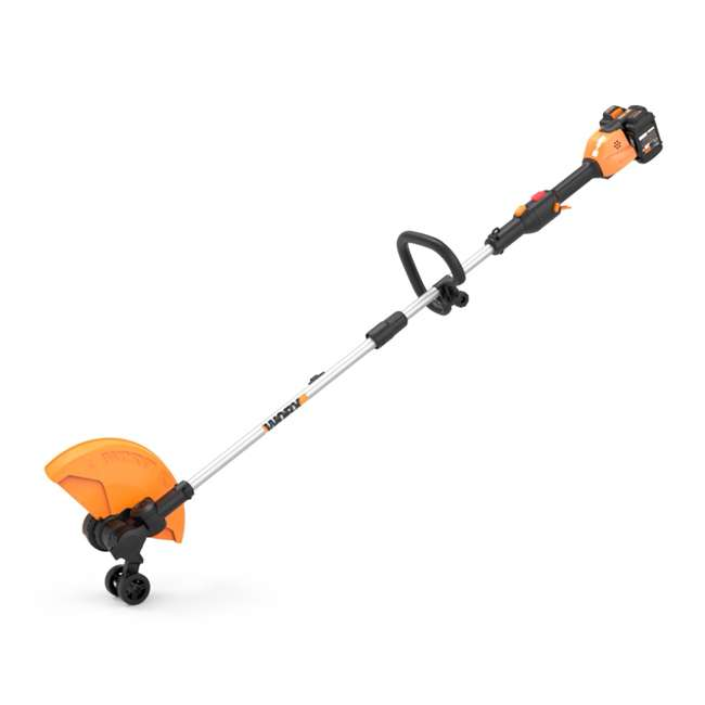 "WG184 WORX WG184 13"" 40V Lithium-Ion Cordless String Trimmer with Batteries & Charger 4"