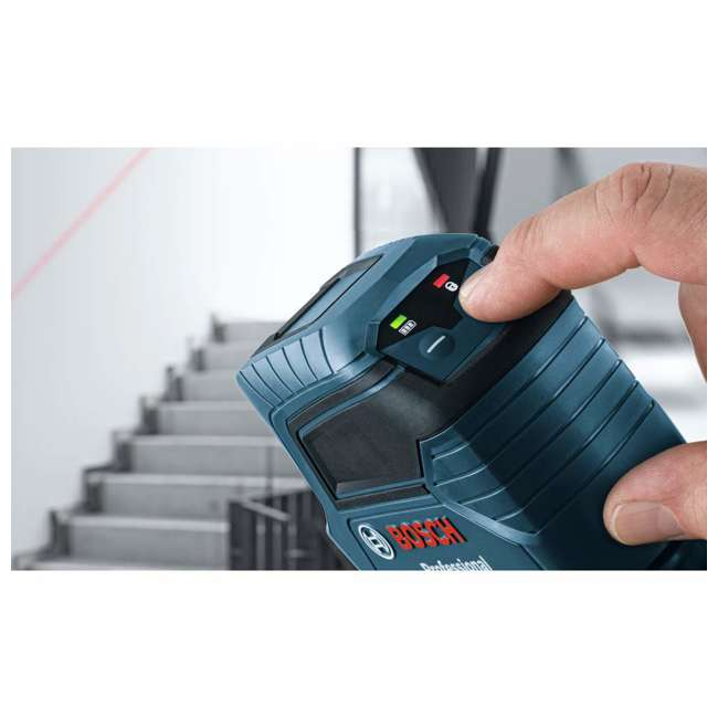 GLL 50-RT-RB Bosch GLL 50 Self Leveling Cross Line Laser Level Kit (Certified Refurbished) 4
