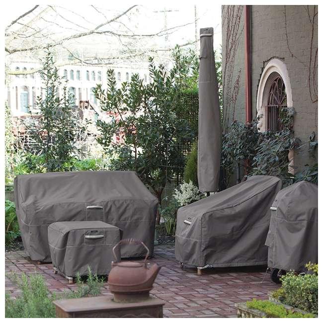 55-163-045101-EC-U-A Classic Accessories Ravenna Patio Chaise Lounge Cover, Dark Taupe (Open Box) 3