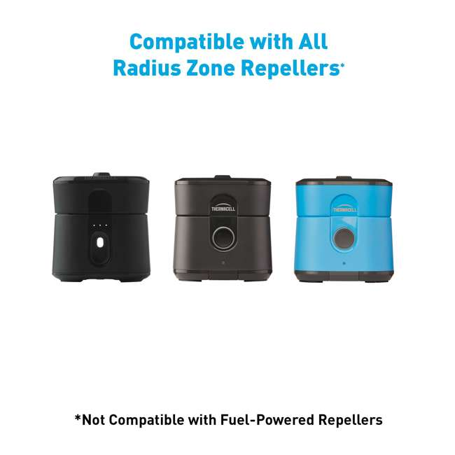 3 x LR-1-40 Thermacell LR-1-40 Radius Zone Mosquito Sealed 40-hour Repellent Refill (3 Pack) 7