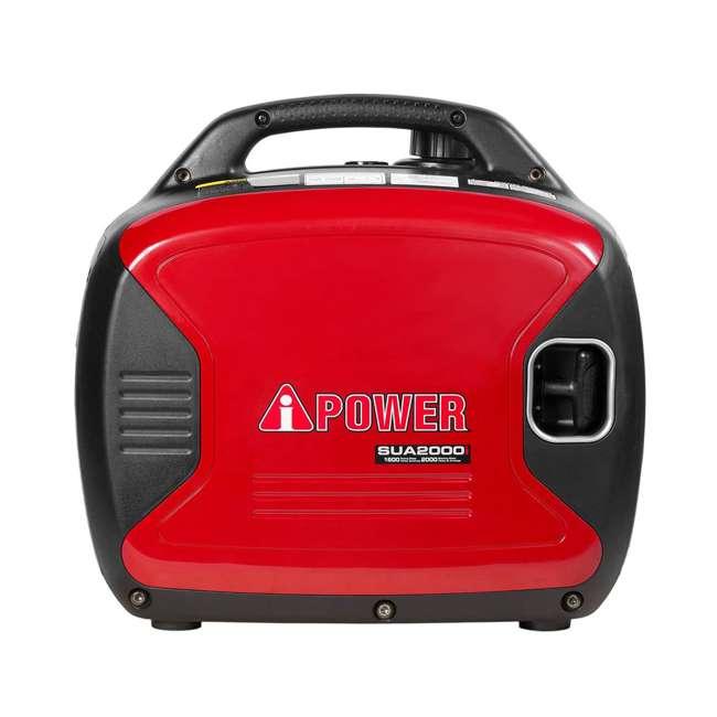 SUA2000i A-iPower SUA2000i Super Quiet 1600-Watt Portable Digital Inverter Gas Generator 2