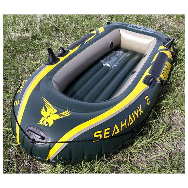 68347EP + 2 x 68631E Intex Seahawk 2 Inflatable Raft & 2 Trolling Motors 4