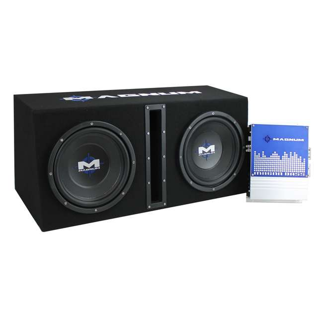 MB210SP-OB MTX MB210SP 10-Inch 1200W Dual Loaded Subwoofer Encolsure Package