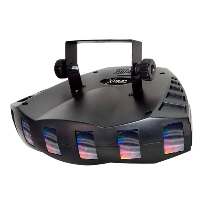 DERBY-X-RB Chauvet DJ Derby X 90-LED Rgb DMX-512 Strobe Light Pro Club Lighting Effect 1