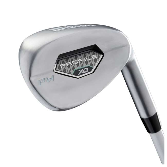 WGGC4380L + WGWP40800 Wilson Profile XLS Women's Left Hand Graphite Golf Club Set & Balls 4
