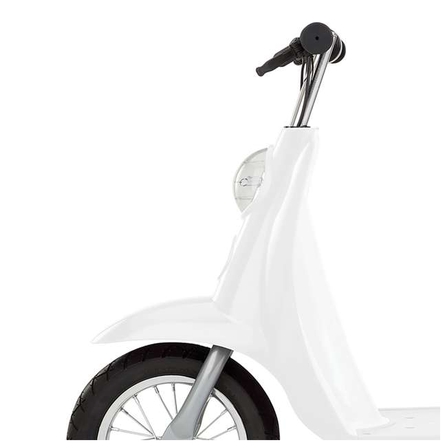 15130608 + 97783 + 96785 Razor Pocket Mod 24V Electric Retro Scooter, Kids Helmet, & Elbow & Knee Pads 7