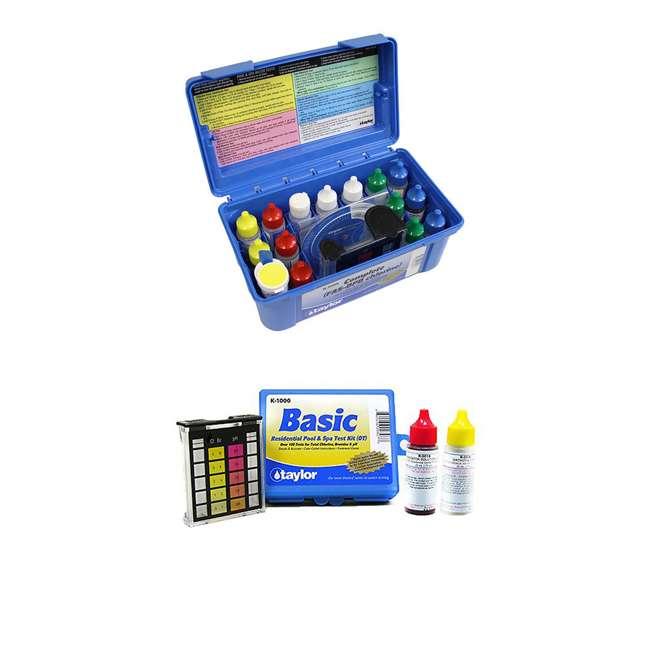 K2006 + K1000 Taylor Complete Pool Chlorine Test Kit w/ Basic Kit