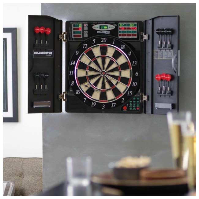 EBR1000 Arachnid EBR1000 E-Bristle 1000 LED Electronic Scoring Dartboard Cabinet Set 1
