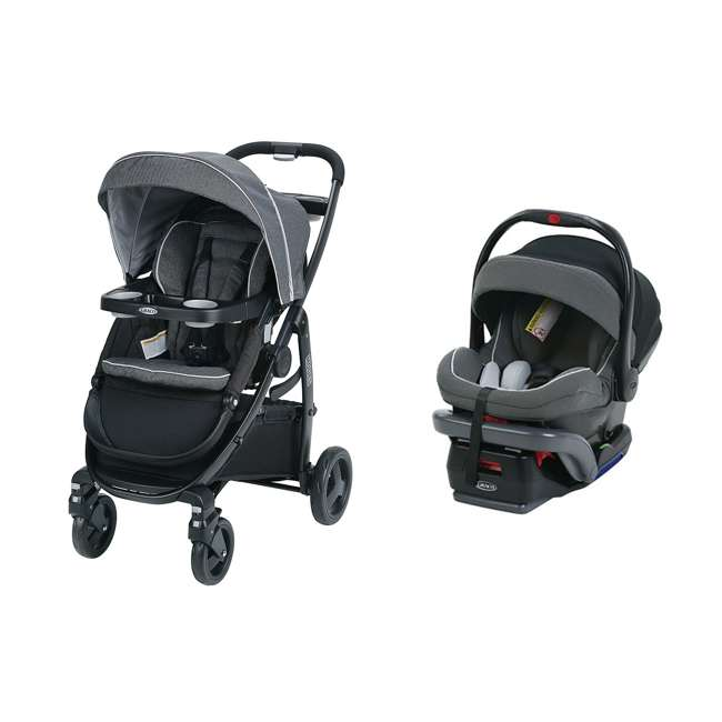 Graco Modes Click Connect 3-in-1 Stroller + SnugRide ...