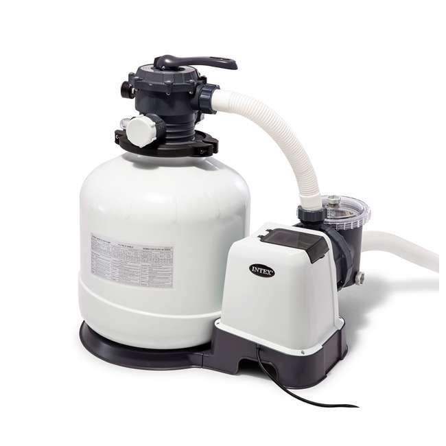 26651EG + 2 x 29060E Intex Pool Sand Filter Pump w/ Pump Hose (2 Pack) 3
