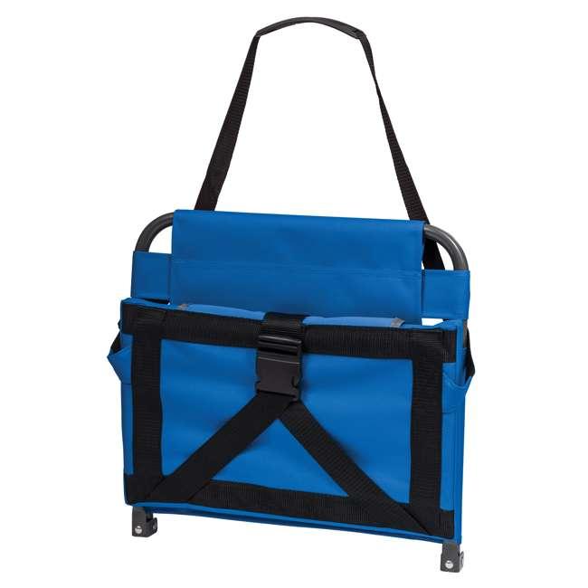 1-1-58814-DS EastPoint Sports Adjustable Bleacher Backrest Seat, Royal Blue 1