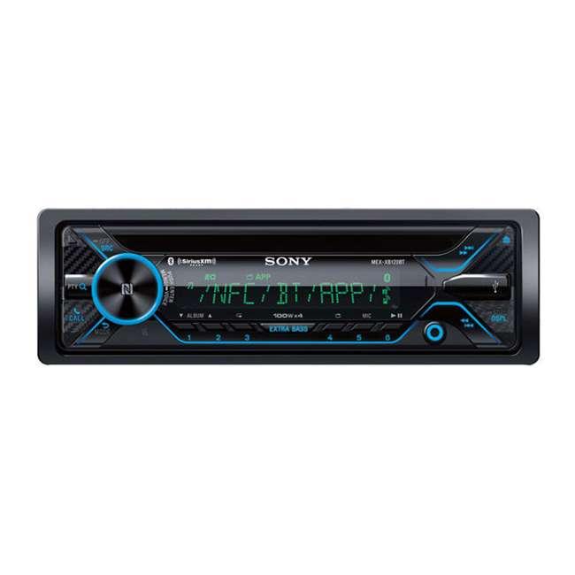 MEX-XB120BT Sony MEX-XB120BT Bluetooth 1-DIN CD Player Stereo Receiver 4