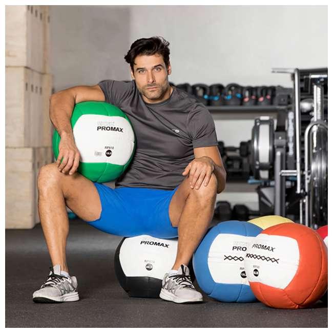RPX12 Champion Sports Soft Shell Rhino Promax Slam Royal Blue Medicine Ball, 12 Pounds 3