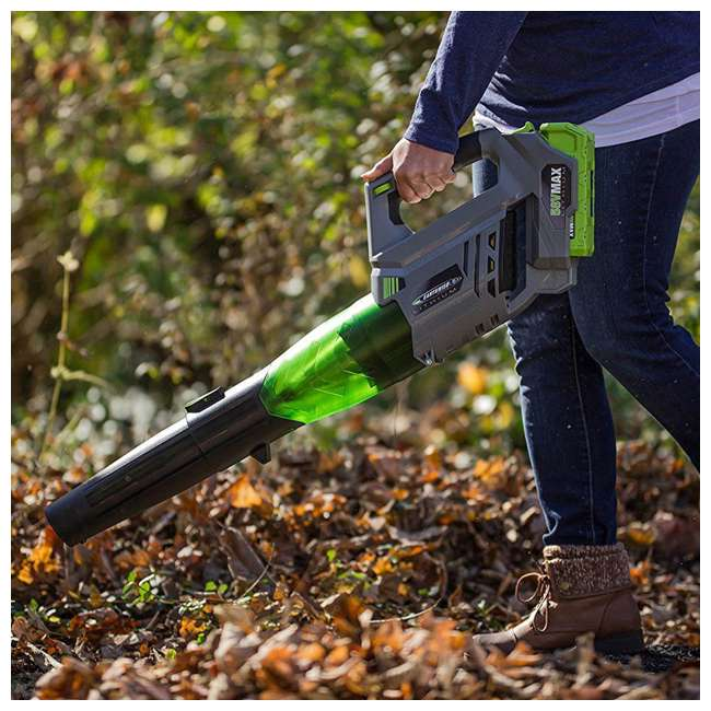 LB20058 Earthwise 58-Volt Lithium-Ion Cordless Electric Leaf Blower 3