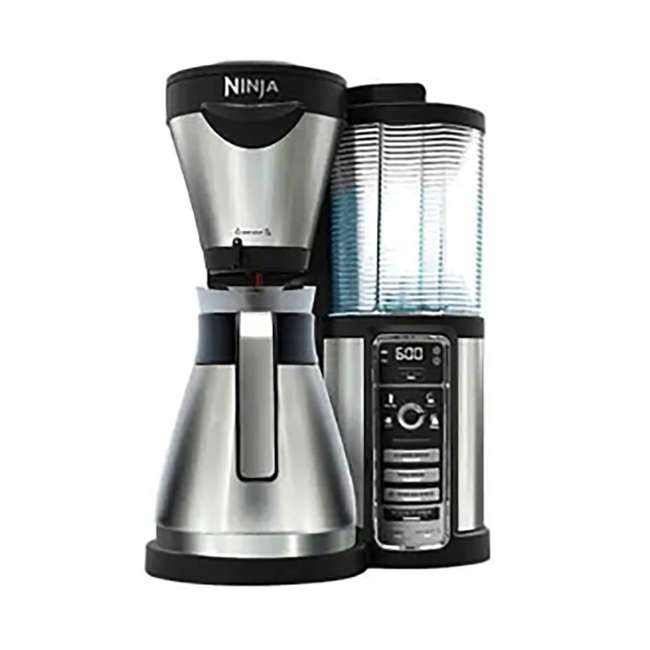 CF086_EGB-RB Ninja Automatic Coffee Bar with Stainless Steel Carafe (Certified Refurbished)