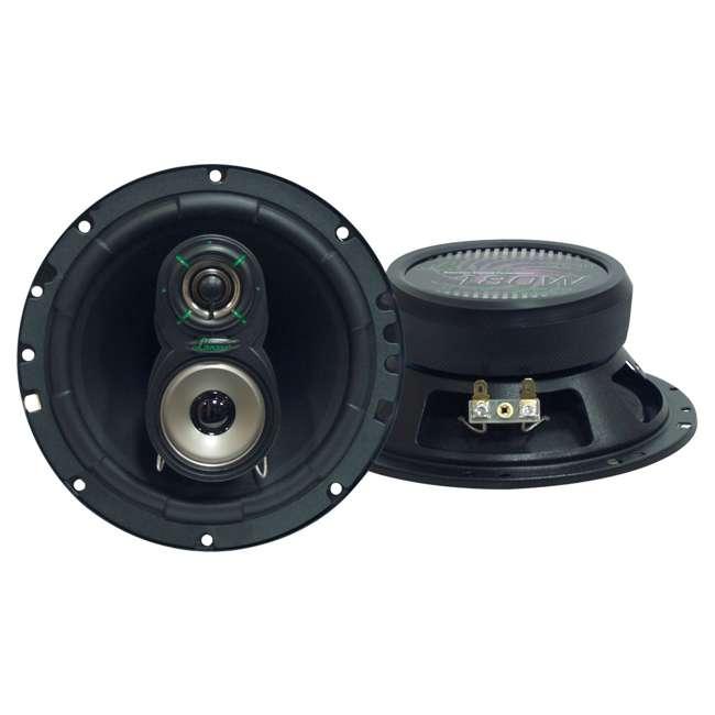 VX630 LANZAR VX630 6.5-Inch 3-Way 180W Speakers (Pair)