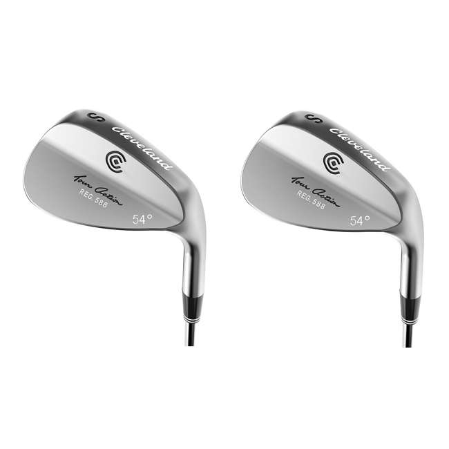 4216-588-R54 Cleveland Golf 588 54-Degree Tour Action Wedge, Right-Handed  (2 Pack)
