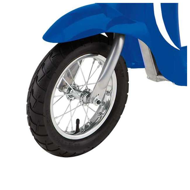 15130641 + 97778 Razor Pocket Mod Miniature Electric Scooter + Youth Helmet 3